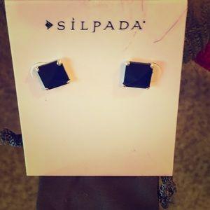 Silpada Pyramid Earrings P3038